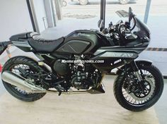 GPX Gentleman Racer 200cc black Cafe Racer
