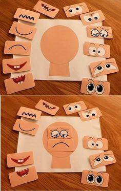 Las emociones 😁😭🤔😍🤗