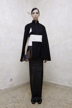 "COVHERlab 's collection ""Twentythree"" for A/W 2013... Modern take of a kimono... love it."