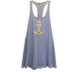 Sperry Top-Sider Maiden Voyage Cover Up ($72) ❤ liked on Polyvore