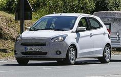 2016 Ford Ka Spy photos and Review