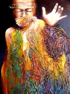 BUSCANDO LA LUZ  óleo sobre lienzo 81 x 65 cms. 2014 - 15  ARTE, JOSÉ ESPURZ