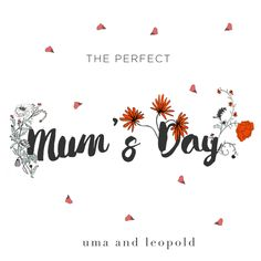 Mother's day by uma and leopold - graphic design gif