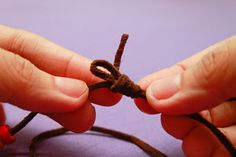 How to Make a Chinese Sliding Knot: 11 steps (with pictures)