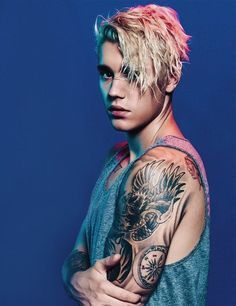 I am going to be posting his billboard magazine photo shoots because they are beautiful