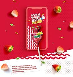 Social media Bon Bon Bum 2018 on Behance Food Graphic Design, Food Poster Design, Creative Poster Design, Ads Creative, Creative Posters, Menu Design, Food Design, Banner Design, Creative Photoshop