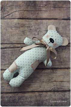 Patchwork teddy bear