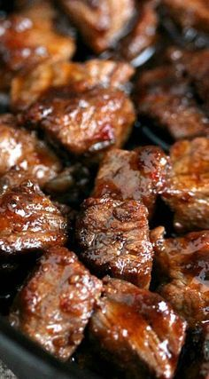 Steak Bites (best Southern recipes) ~ Simple and utterly delicious