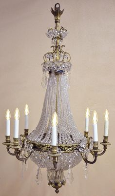 Louis XVI Crystal & Bronze│Country French Interiors, Inc