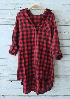 Macy Oversized Flannel