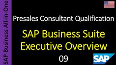 SAP - Course Free Online: 09 - SAP Business Suite Executive Overview