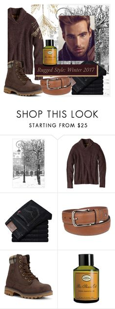 """""""Rugged Style"""" by jamielynn2323 ❤ liked on Polyvore featuring Pottery Barn, prAna, Sebastian Professional, Tommy Hilfiger, Lugz, The Art of Shaving, Frontgate, men's fashion, menswear and Winter"""