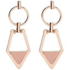 MIX MATCH DANGLE EARRINGS ($13) ❤ liked on Polyvore featuring jewelry, earrings, accessories, long earrings, dangle earrings, earring jewelry, stud earrings and geometric jewelry