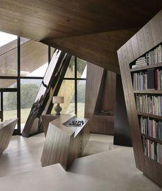 Casa-origami, Connecticut, Estados Unidos – Daniel Libeskind