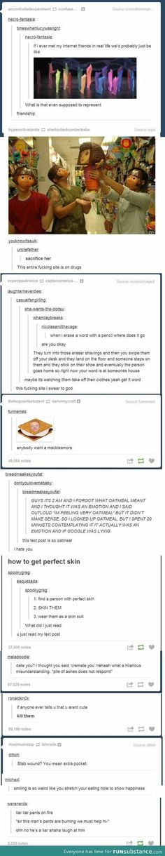 The world of tumblr