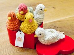 Ravelry: Amigurumi Little bird pattern by Chinami Horiba