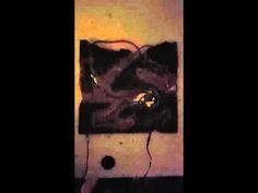"Video of  Quantum Panel 15""x15"" - Electroluminescent Wire, Cement, Wire Mesh  #lightart #art #abstractsculpture #electroluminescentwire #elwire #newyorkart #cement #concrete"