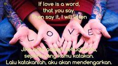 Kata kata Sindiran Buat Pacar [ Bahasa Inggris dan Artinya ] - Pacaran Romantis Jaman Now Love Is, Free News, Maya Angelou, Sayings, Words, Instagram, El Amor Es, Lyrics, Horse