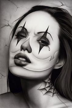 Tears of a Clown - Canvas Giclee