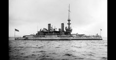 The Mighty Warship USS Indiana in 1898 - Original Footage (Watch)
