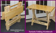 Woodworking plans Portable Work Table Plans free download Portable work table plans I ve been looking for a really good folding workbench design that I could use to You can also download detailed plans for th