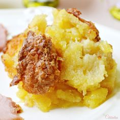 Looking for an extra, easy side dish for Easter dinner? This rich, bright and sweet Pineapple Soufflé Bake is a recipe from my dear sister-in-law. This dish wa