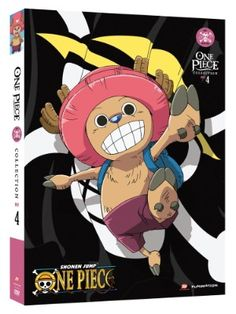 One Piece DVD Collection 4 (Hyb) (Eps 79-103) Uncut One Piece  #RightStuf2014.