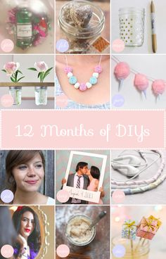 12 Months of DIY Projects for 2014