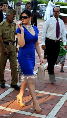 Indian Bollywood actress Zarine Khan poses as she attends 'The... News Photo | Getty Images