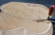 Musikmesse 2011, how to build a guitar