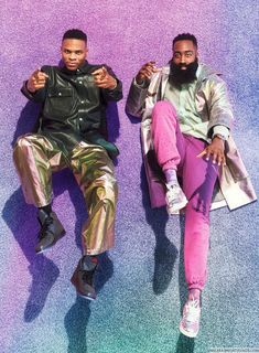 James Harden y Russell Westbrook para GQ USA en fotos de Sebastian Mader Russell Westbrook All Star, Russell Westbrook Shoes, Russell Westbrook Wallpaper, Westbrook Wallpapers, Westbrook Okc, James Harden, Gq Style, Style Icons, Basketball