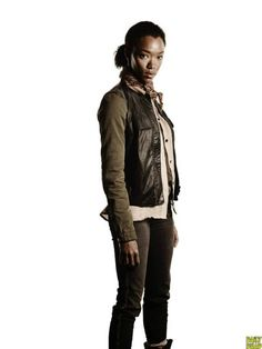 The Walking Dead 4ª Temporada: Sasha.