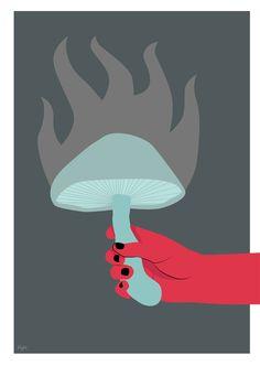 Mushroom of light - Karolina Syta