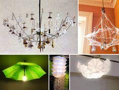 Gli #ombrelli possono diventare anche splendidi accessori per la casa: portariviste, portacappelli, stendini, lampade... #RicicloCreativo su @marraiafur