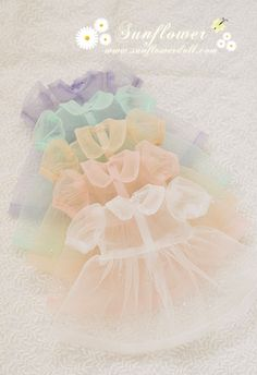 ❤These are so super cute. They look like dresses for ball jointed dolls