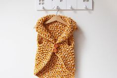 Kids crochet vest pattern