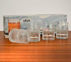 Tapio Wirkkala Vintage Niva 3 5 oz Tumblers Glasses Iittala Finland | eBay