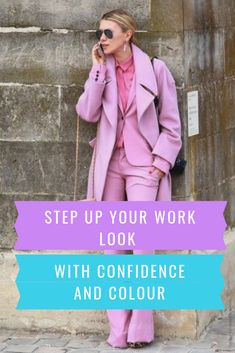Wearing well-chosen bold item isn't just office-appropriate. It takes and shows confidence. And because that's important, I'm going to show you how you can do it. #style #colours #styleforwork