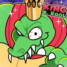 Super Nintendo, Game Dino, K Rool, Pokemon, Donkey Kong Country, Big Brown, Mario And Luigi, Indie Games, King Kong