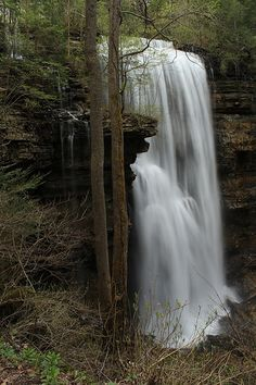 Virgin Falls about 45 mins from Crossville, TN Beautiful Waterfalls, Beautiful Landscapes, Places To Travel, Places To See, Tennessee Waterfalls, Crossville Tn, Crossville Tennessee, Nature Photography, Scenic Photography