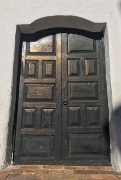 Puerta de la casa de la Independencia de Asunción-Paraguay