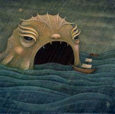 Sea monster.