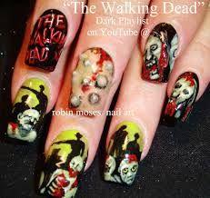 Walking Dead - Nail Art