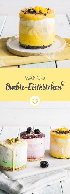 """Mangolicious! Mit diesem Ombré Eistörtchen erntest du garantiert """"Ohhs"""" und """"Ahhs"""""""