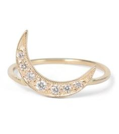 Catbird :: WHAT'S NEW: jewelry :: Crescent Moon Ring