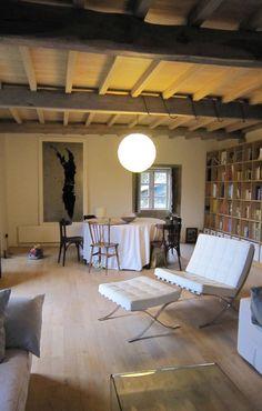 Rehabilitación de vivienda rural tradicional en Negreira - Brión : Salones de estilo rural de Ezcurra e Ouzande arquitectura