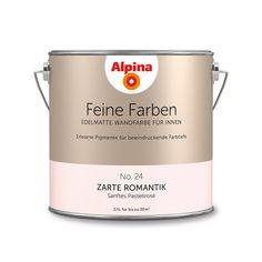Alpina Feine Farben No. 24 – Zarte Romantik. #Design #DIY #Farbe #Einrichten…