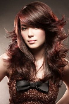 2014 Creative Trends for Hair Salon ... chestnut-hair-color └▶ └▶ http://www.pouted.com/?p=36142