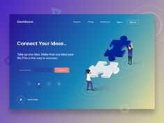Dashboard - Connect your ides by Sudhan Gowtham