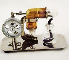 Mini Stirling Engine Steam Engine Model  Educational Toy Kits  cj199